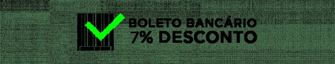 Boleto Bancário 7% desconto