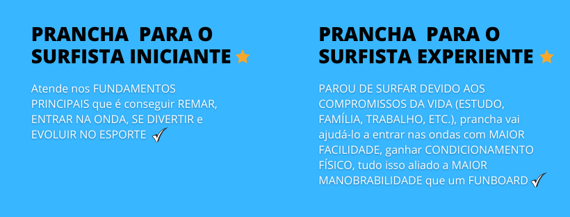prancha fish big para surfista iniciante ou experiente