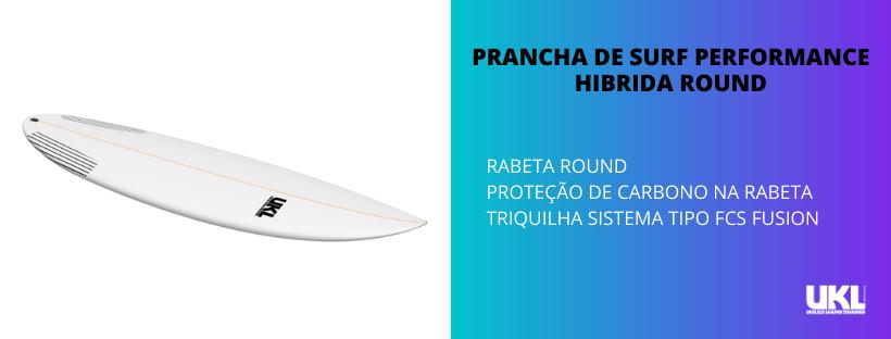 prancha de surf hibrida para ondas de 0,5 a 1,5 metros