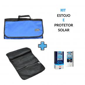 Kit Estojo Acessórios mais protetor solar Ponchos - 1