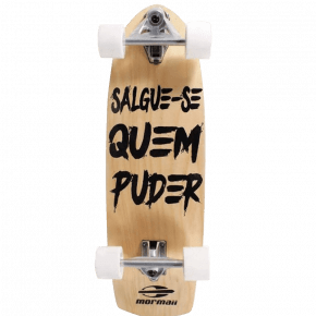Kit Skate Simulador Surf mais Leash Pranchinha