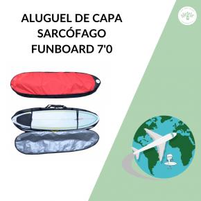 Capa Sarcófago Tripla Funboard 7'0 Locação