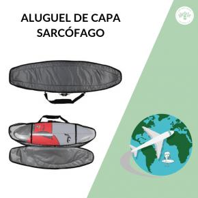 Capa Sarcófago Tripla 6'6 Prancha Surf Locação