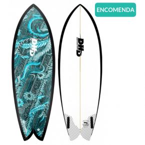 Prancha de Surf Biquilha DHD Mini Twin Encomenda – 8