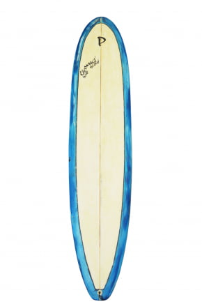 "Prancha de Surf Longboard 9'0"" Azul Usada"