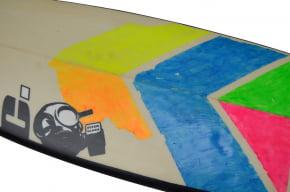 Prancha de surf Usada 5'8 Cdotte Surfboards