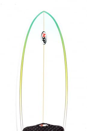 Prancha de Surf Usada Funboard 7'2 NSP